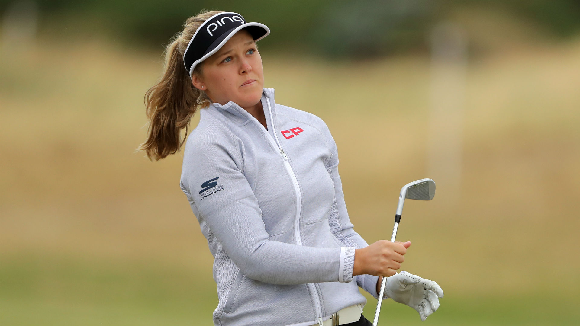 brooke henderson shoots hole in one at women u0026 39 s british
