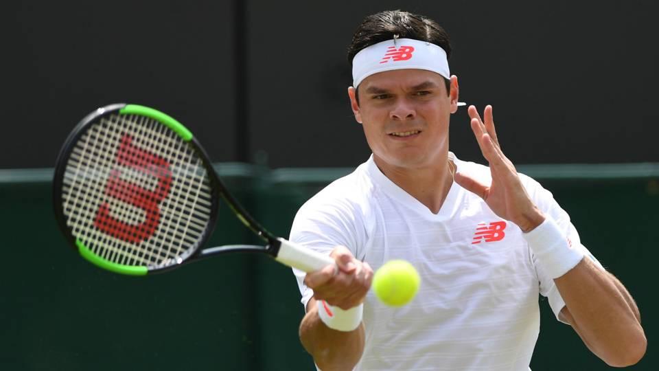 Wimbledon 2018: Raonic defeats Millman in straight sets to ...