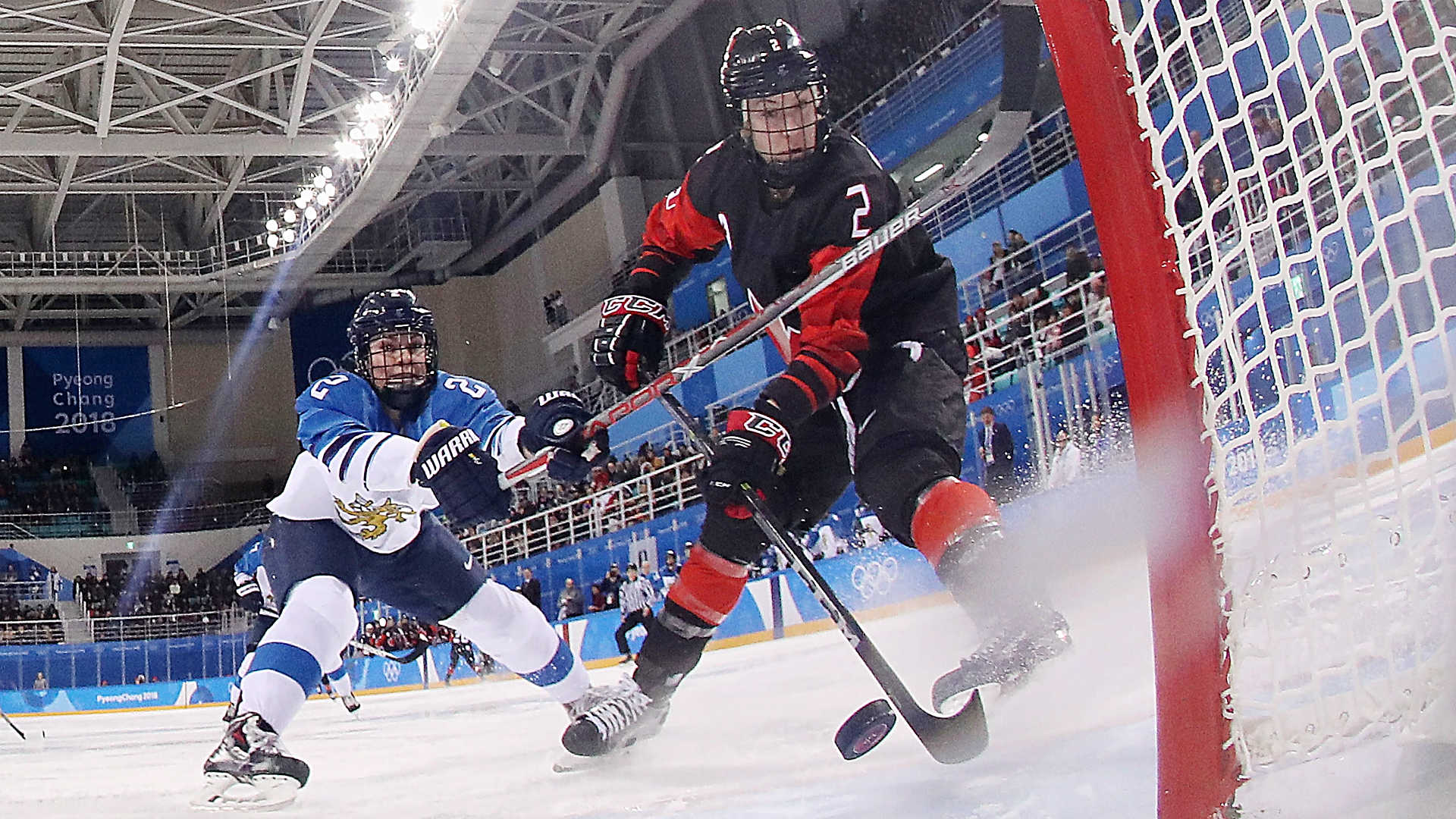 Team Canada beats Finland in women's hockey at 2018 Winter Olympics