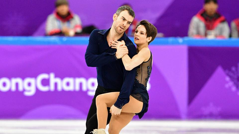russian ice dancers dating Pyeongchang, south korea — the final test came in september in germany,  where alex gamelin and yura min had to qualify both their.