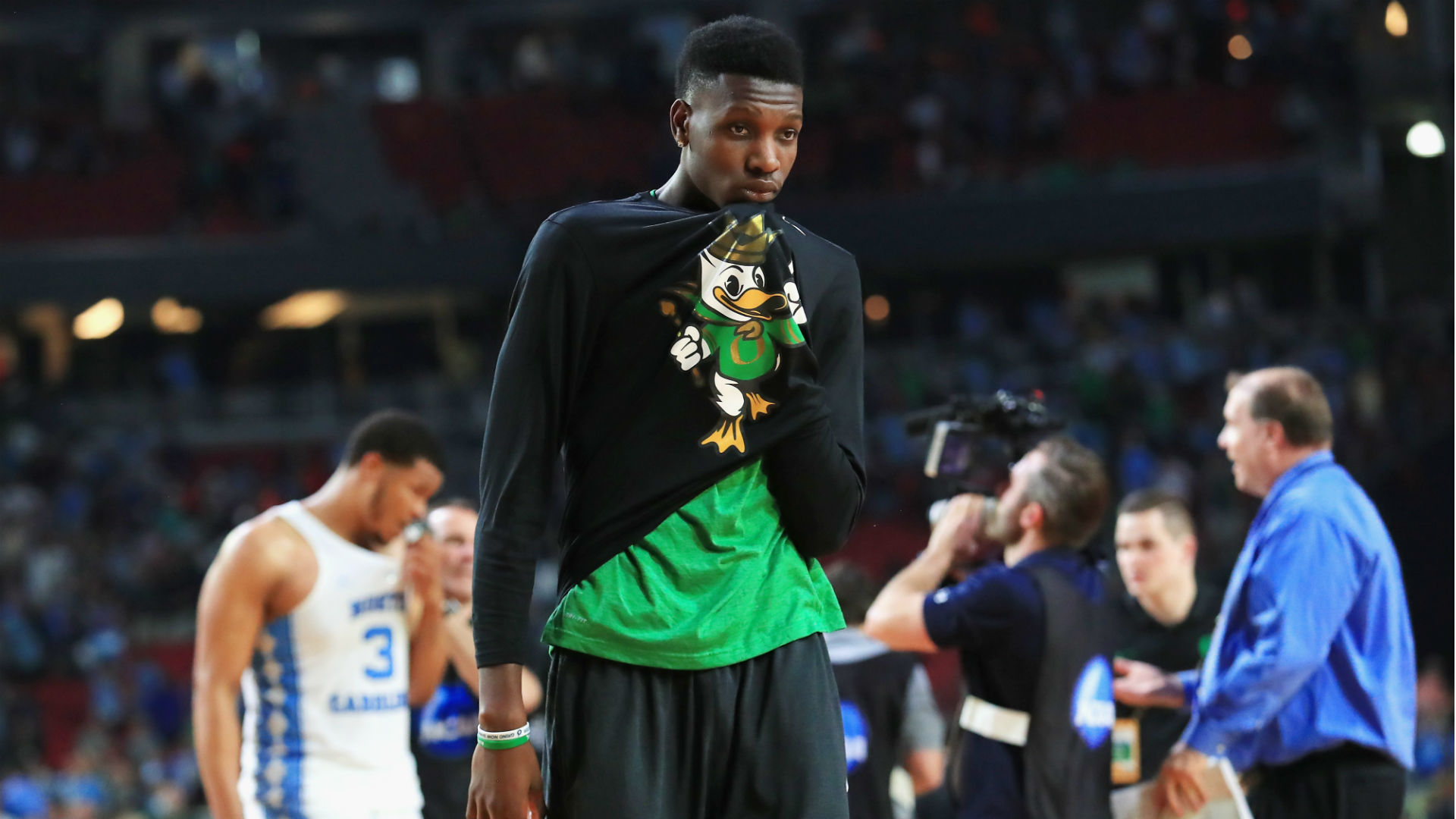 Montreal native Chris Boucher scores first NBA points in Raptors loss