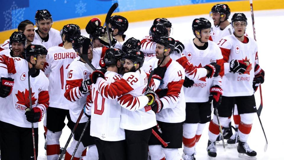 winter olympics 2018 canada wins bronze in men s hockey after 10