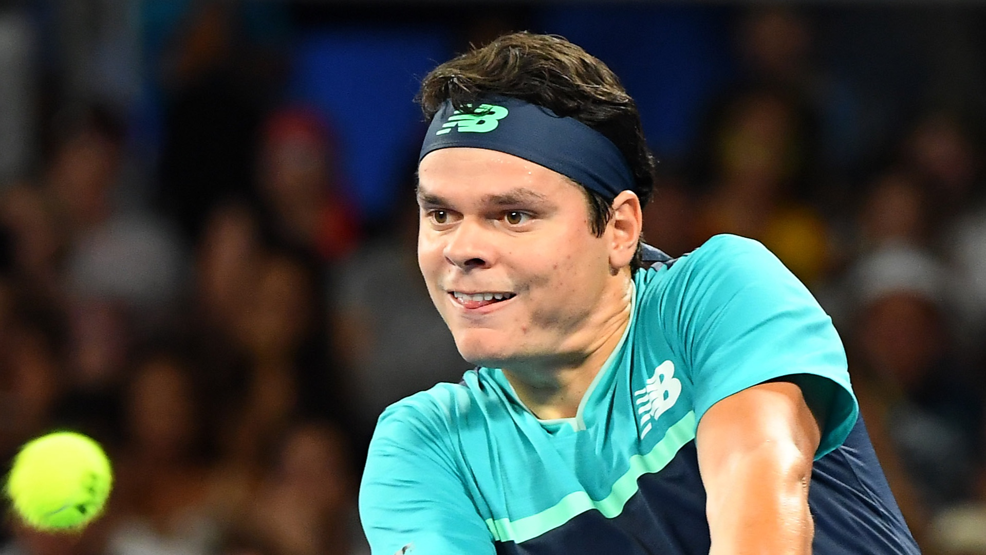 Australian Open 2019: Milos Raonic cruises past Nick Kyrgios in first round