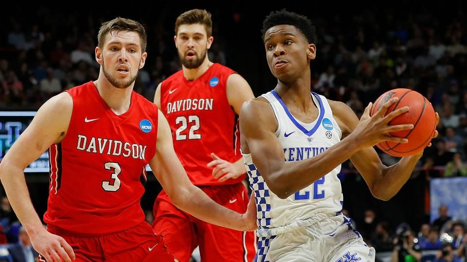 Kentucky Basketball Runs Past Thomas More Highlights Box: March Madness 2018: Kentucky's Gilgeous-Alexander Fills Up