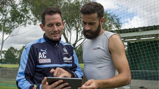 Clark And Brosque Check Out His Stats