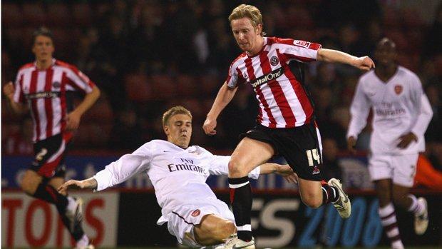 David Carney vs Arsenal FC
