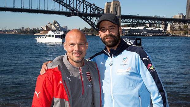 Brosque and Freddie Ljungberg