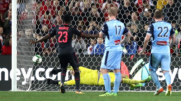 Redmayne Saves Welbeck Penalty