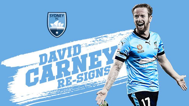 David Carney Re-Signs