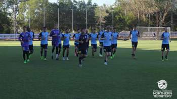 GALLERY: Sky Blues Train Ahead Of Cup Clash