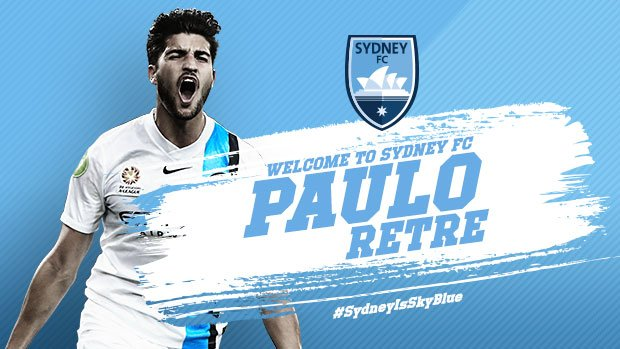 Retre Signs For Sydney FC