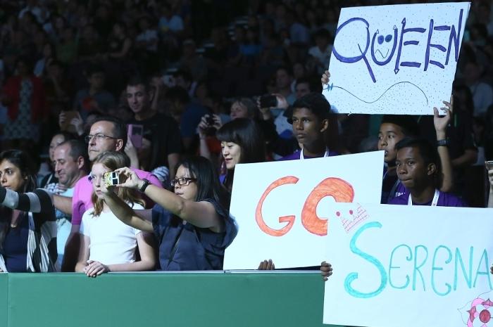 Serena vs. Genie: Social Update