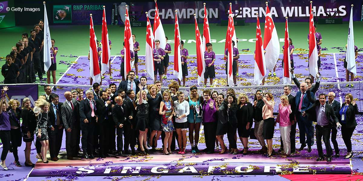 WTA Finals: Asia's Best Sports Experience