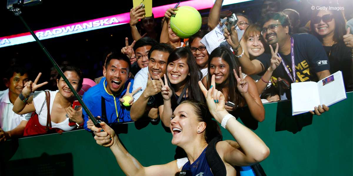 Fan-Tastic 2015 WTA Finals Singapore