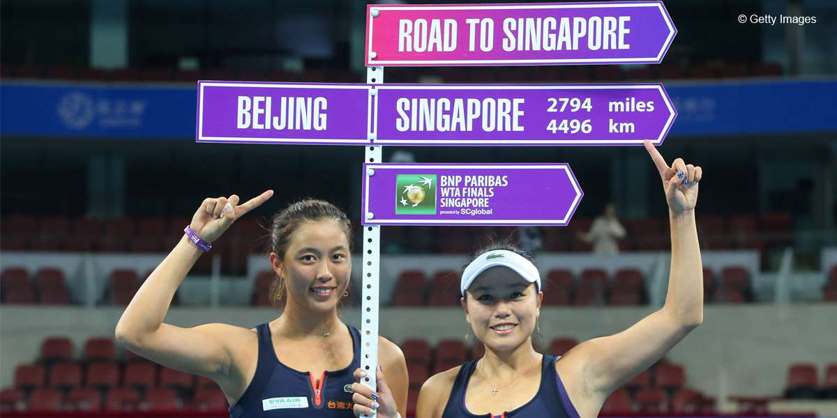 Chan Sisters 7th Team Into WTA Finals