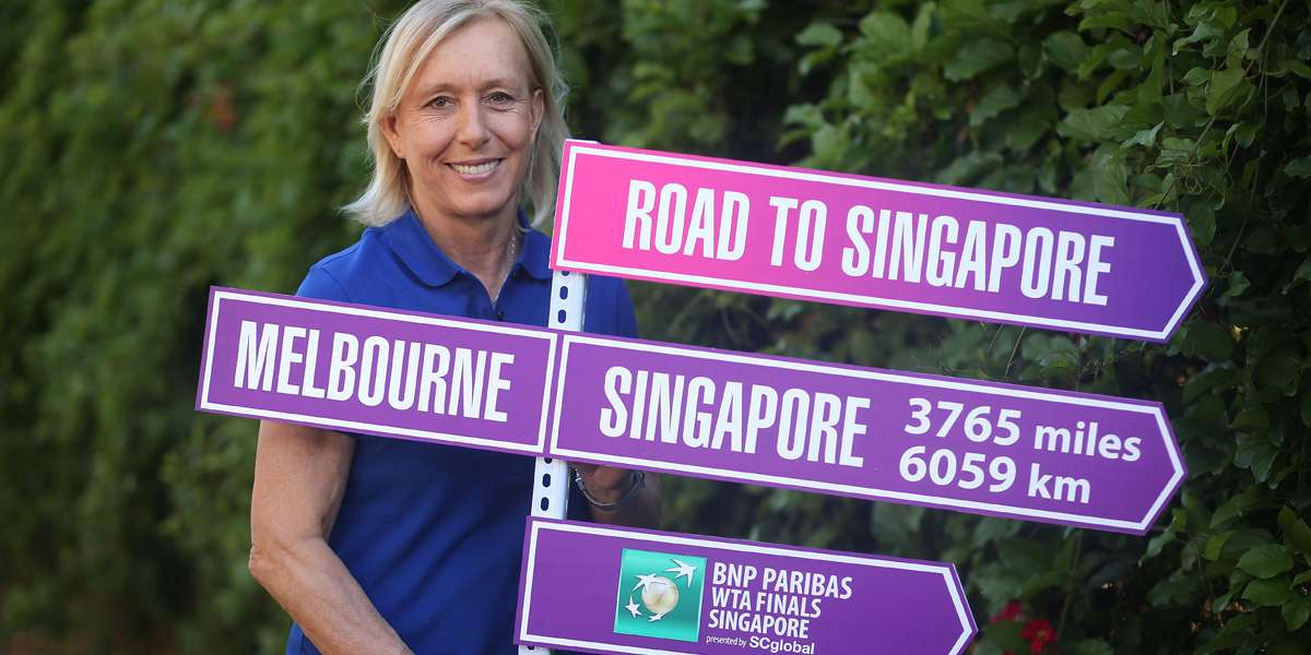 Navratilova To Return To Singapore