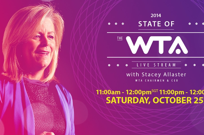 Watch State Of The WTA Address On Saturday!