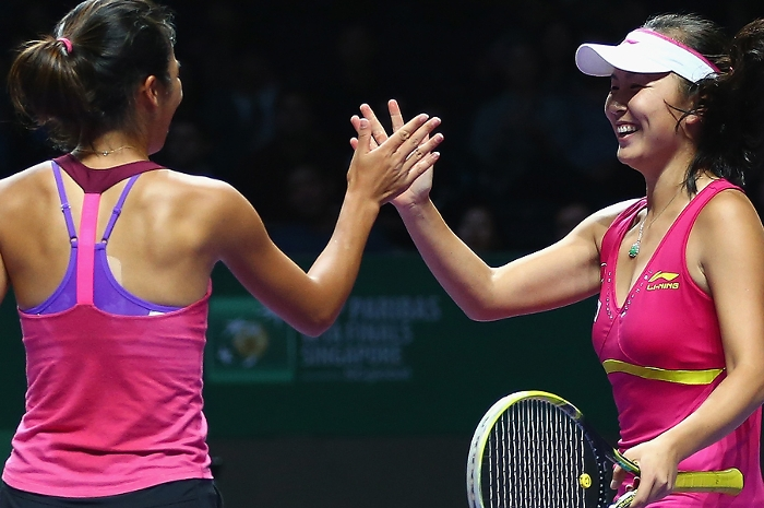Hsieh & Peng Make Doubles Semis