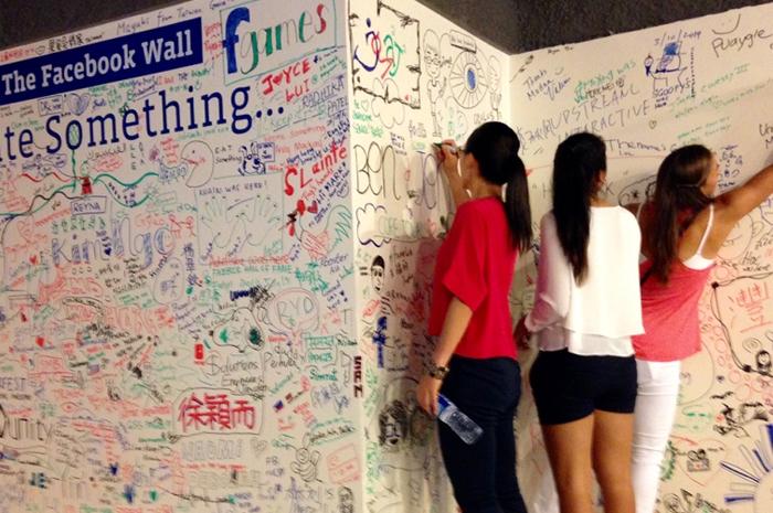 WTA Rising Stars Visit Facebook Singapore