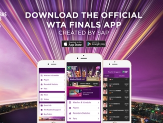 WTA Finals App Available Now