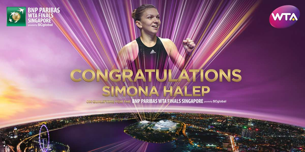 Halep Qualifies For WTA Finals