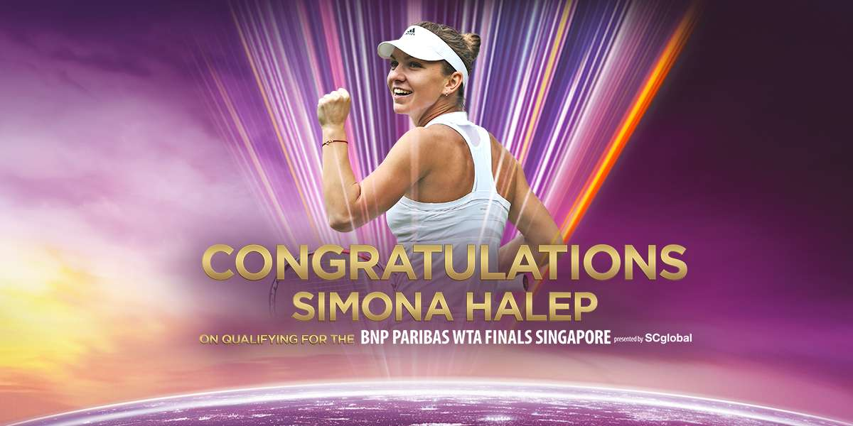 Halep Qualifies For Singapore