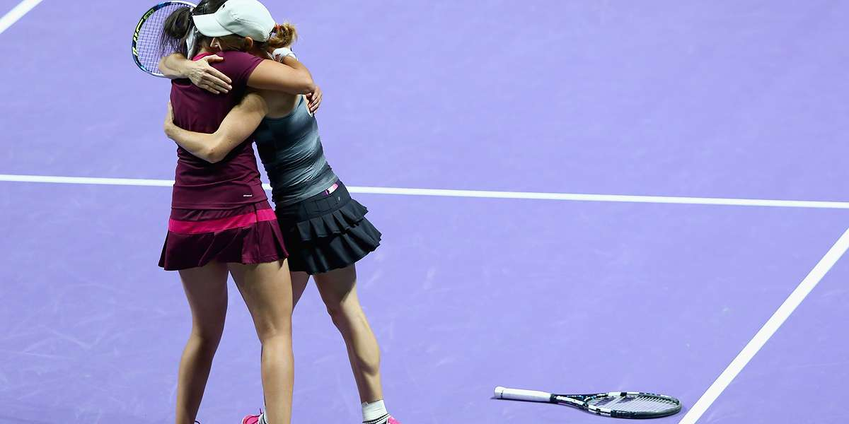 Black & Mirza Win Doubles QF Thriller