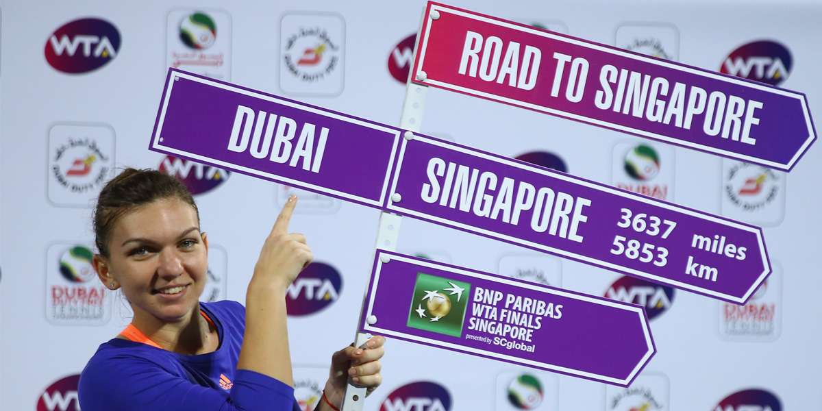 Halep Rises To No.3 On Road To Singapore Leaderboard