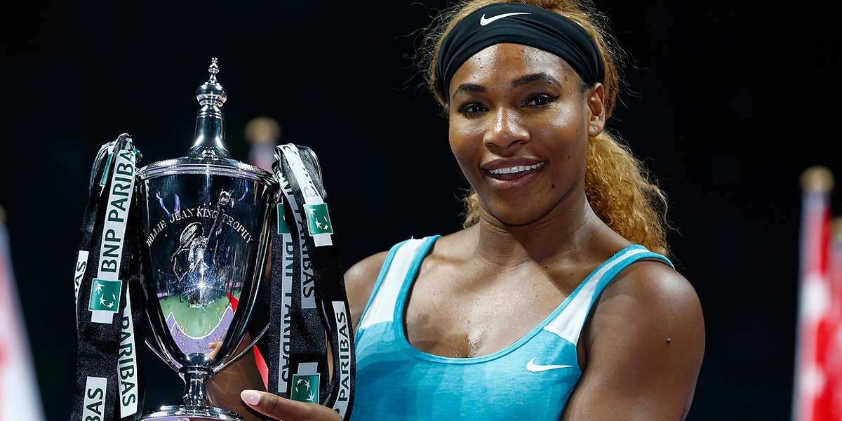Queen Serena Reigns In Singapore