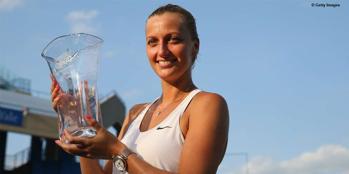 RTS: Kvitova Back Into Top 8