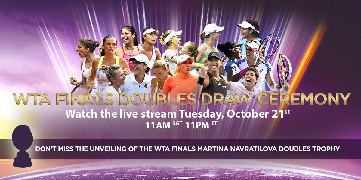 Watch Doubles Draw Ceremony On Tuesday!