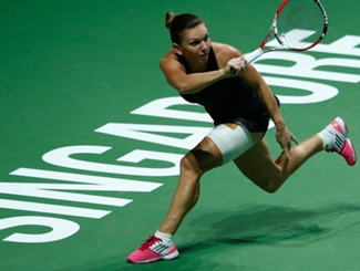 Halep Off To Flying Start