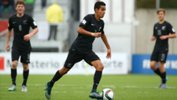 Sarpreet Singh in action representing New Zealand at age group level.