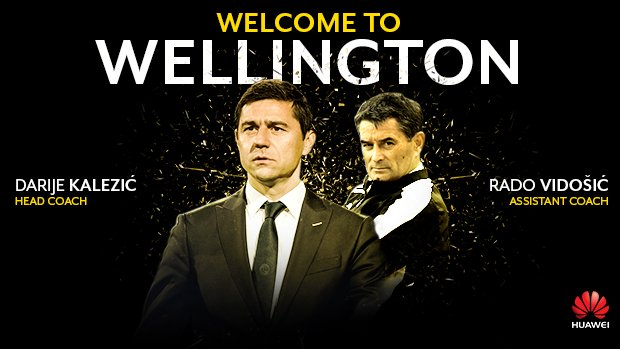 Wellington Phoenix are proud to officially announce Darije Kalezić and RadoVidošić as their new head coach and assistant coach.
