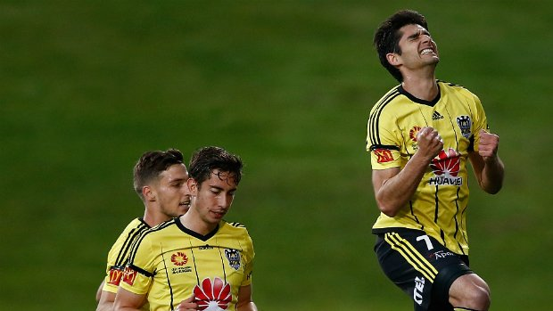 Gui Finkler celebrates a goal on return from Brazil as the Phoenix play out an end-to-end thriller.