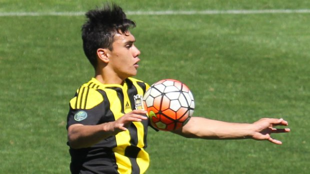 WPSS and WPFA player Max Mata in action for the Phoenix U20s.