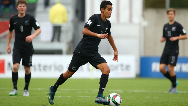 Sarpreet Singh is one of six Wellington Phoenix players or Academy graduates selected for New Zealand U20s World Cup.