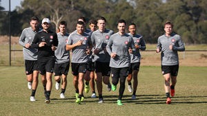 Wanderers return for pre-season training