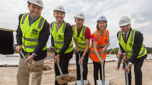 GALLERY: Turning of the soil at Western Sydney Stadium