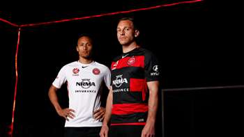 Gallery: Wanderers launch new Hyundai A-League kit