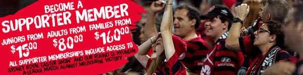 Supporter Membership Banner