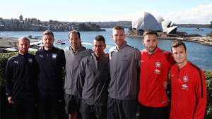 Gallery: Arsenal's official welcome in Sydney