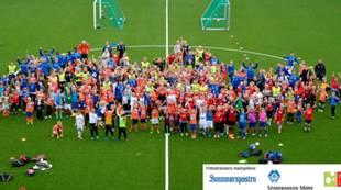 Lagbilde AaFKs fotballskole