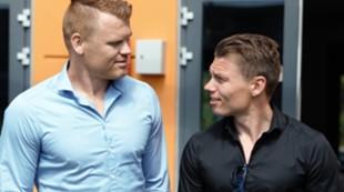 John Arne og Bjørn Helge