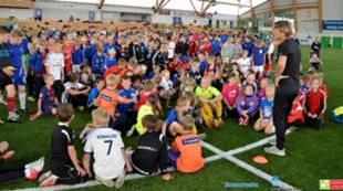 AaFKs Fotballskole 2013 mandag