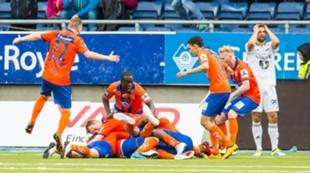 AaFK - Rosenborg , 16.07.2016 , Tippeligaen ,