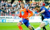 Jonatan Tollås spilte godt, men måtte gå poengløs av banen