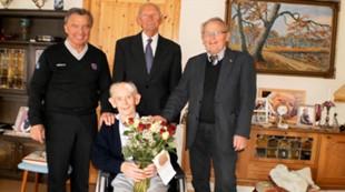 Bernt Sulebust 85 år