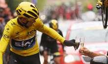 Chris Froome Crowned Tour de France Champion