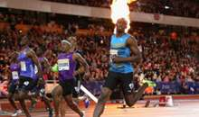 Usain Bolt Satisfied After Victory on Return